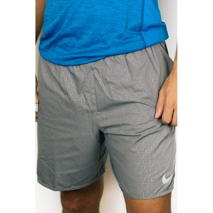Nike Short JDI AR3375-035 silver gray Man
