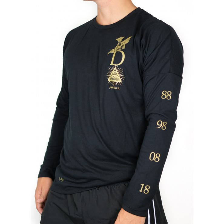 Nike Shirt Run Tailwind JDI 928547 Man long sleeved