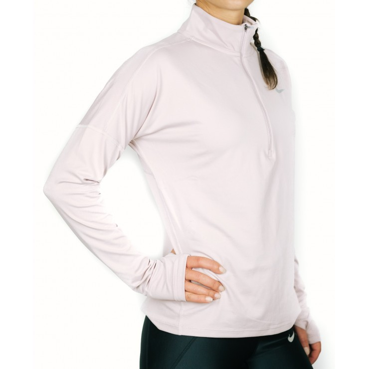 Nike Element Half Zip 855517-684 Donna rosa