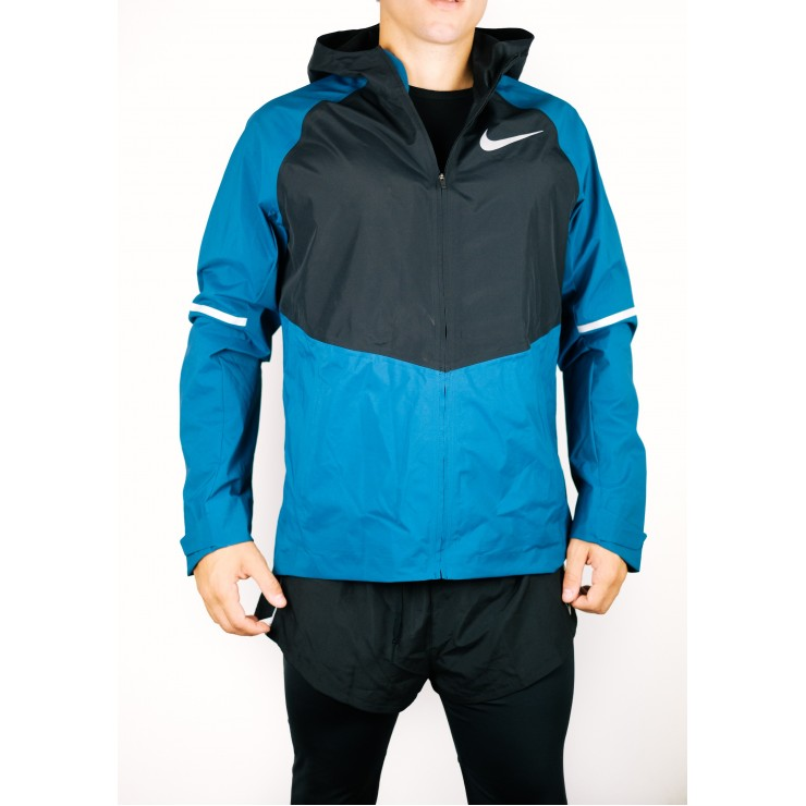 Nike Aereoshield Zonal Hooded 857808 blu Uomo