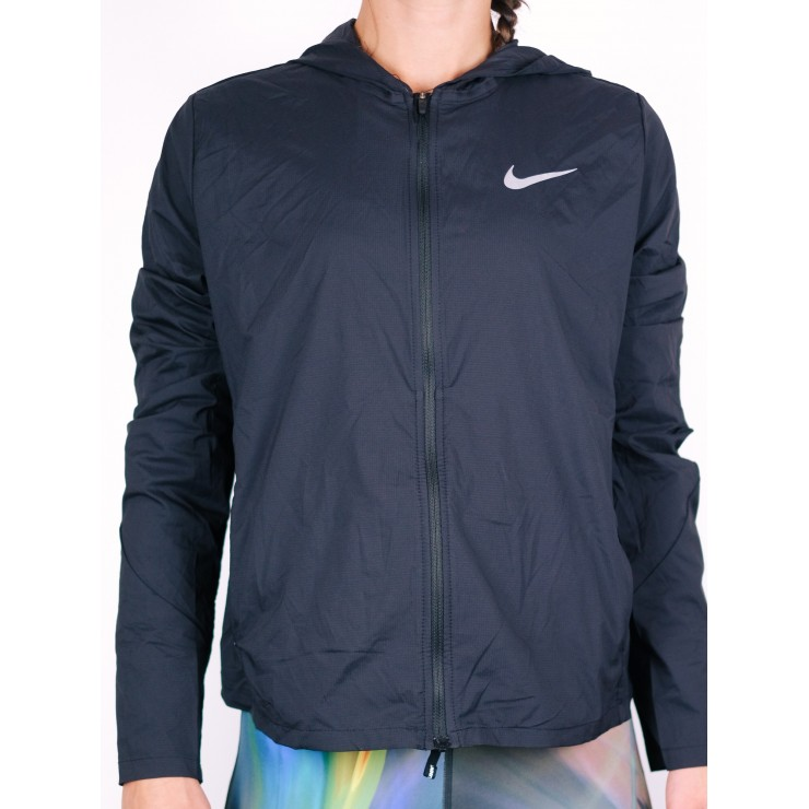 Nike Shield Convertible Jacket 890106-010 nera Donna
